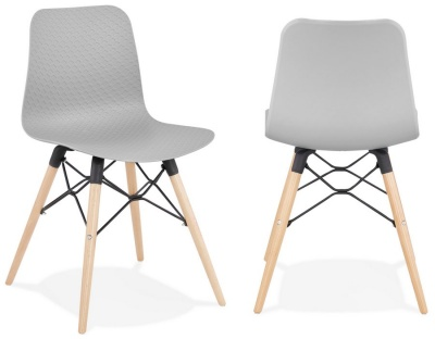 Ginto Chairs Pastel Colours - Pair