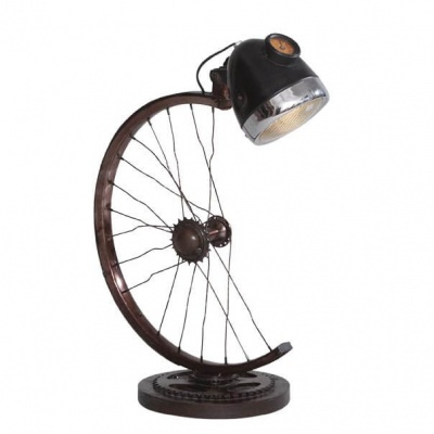 Half Cycle Wheel Table Lamp