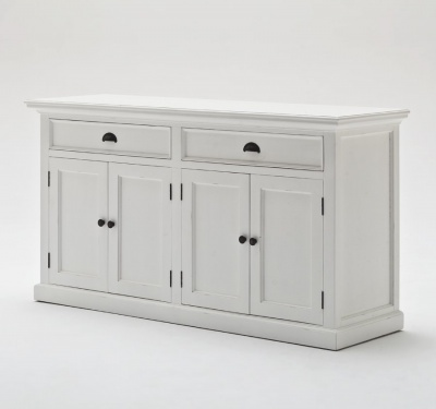 Halifax White Buffet Sideboard 2 Drawers 2 Cupboards