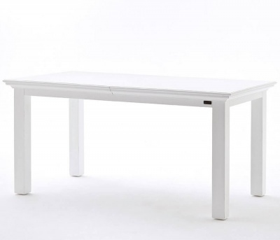 Halifax White Extending Dining Table