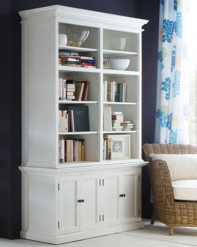 Halifax White Double - Bay Hutch Unit