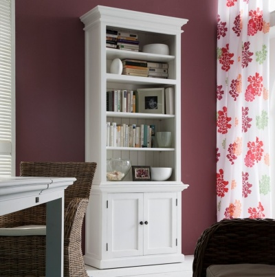 Halifax White Single - Bay Hutch Unit