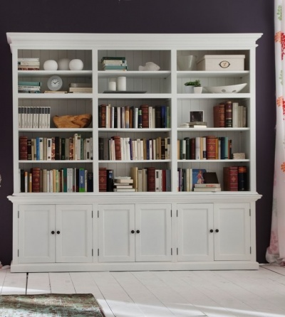 Halifax White Triple - Bay Hutch Unit