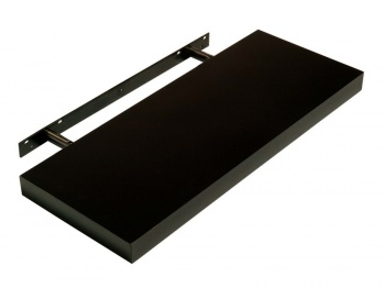 Hudson High Gloss Black 600 Floating Shelf