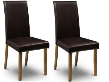 Hudson Brown Dining Chairs- Set
