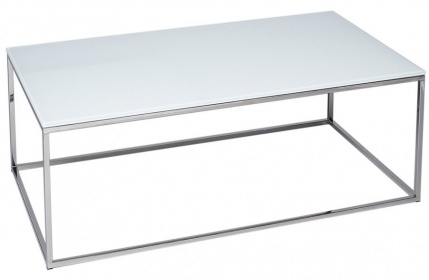 Kensal Rectangular Coffee Table - Glass Top