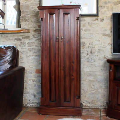 La Roque Mahogany DVD Cupboard