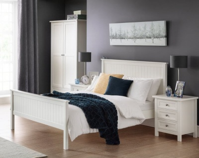 Maine Surf White Bedroom Set