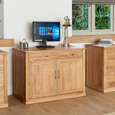 Abdabs Furniture Hidden Home Office Mobel Oak