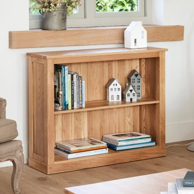 Low Bookcase Mobel Oak