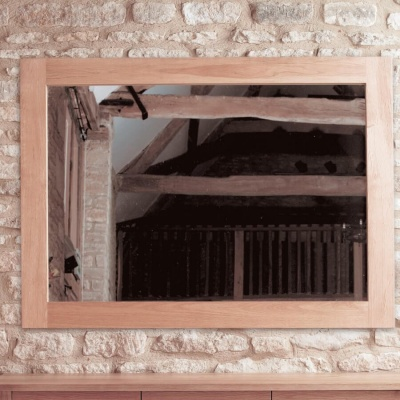 Wall Mirror Medium Mobel Oak