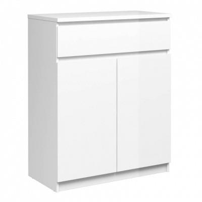 Naia Sideboard - 1 Drawer 2 Doors in White