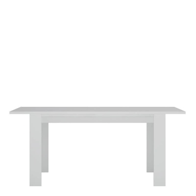 Novi Extending Dining Table in Alpine White 140 - 180 cm