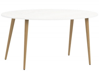 Oslo Large Dining Table - 160 cm in White