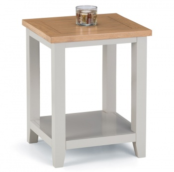 Richmond Soft Grey Coffee Lamp Table