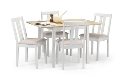 Rufford Two Tone Dining Table and Chairs