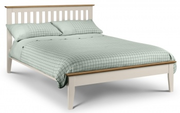Salerno Two Tone Bed Frame - King-Size