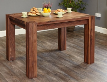 Shiro Walnut Dining Table 4 Seater