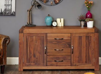 Shiro Walnut Sideboard