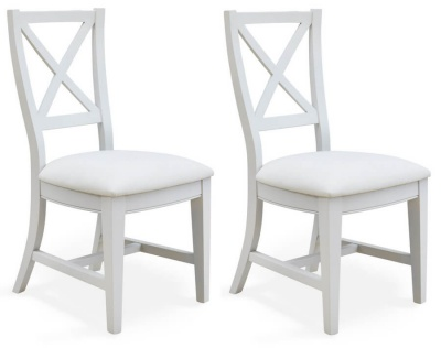Signature Grey Dining Chairs - Pair