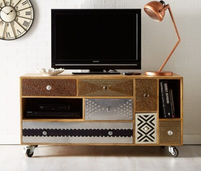Sorio Large TV Sideboard - Handcrafted