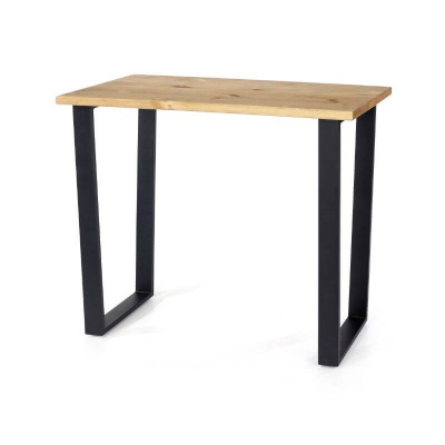 Texas Console Table with Black Metal Legs