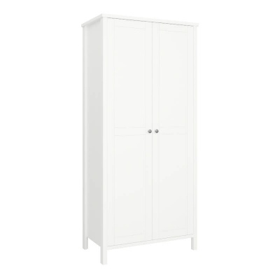 Tromso White 2 Door Wardrobe