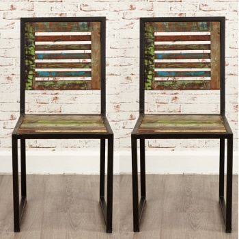 Urban Chic Dining Chairs - Pair