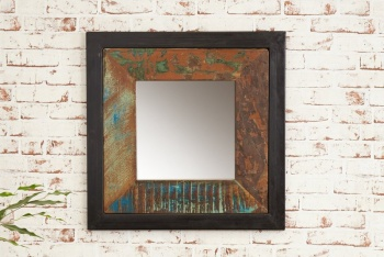 Urban Chic Small Wall Mirror