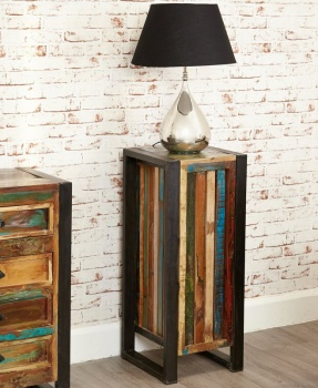 Urban Chic Tall Lamp Table / Plant Stand