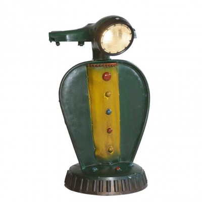 Vespa Scooter Table Lamp