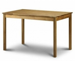 Coxmoor Solid Oak Rectangular Dining Table - 118 cm