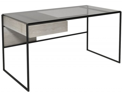 Federico Black Framed Desk