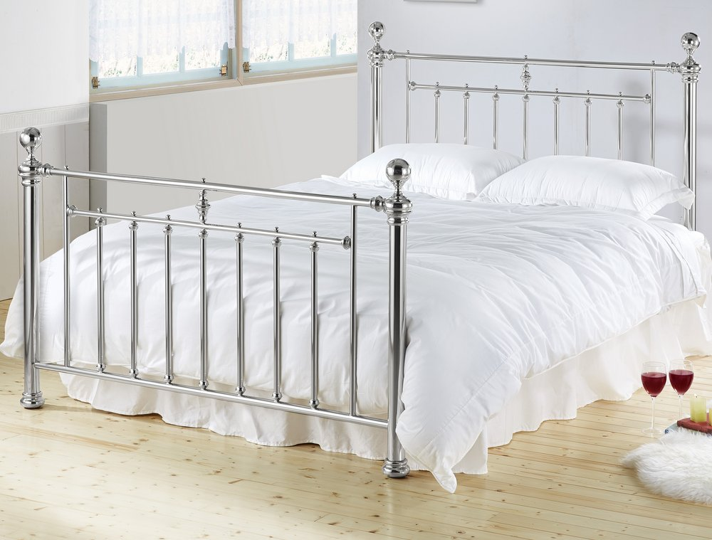 Alexander Metal Bed Frame - Double