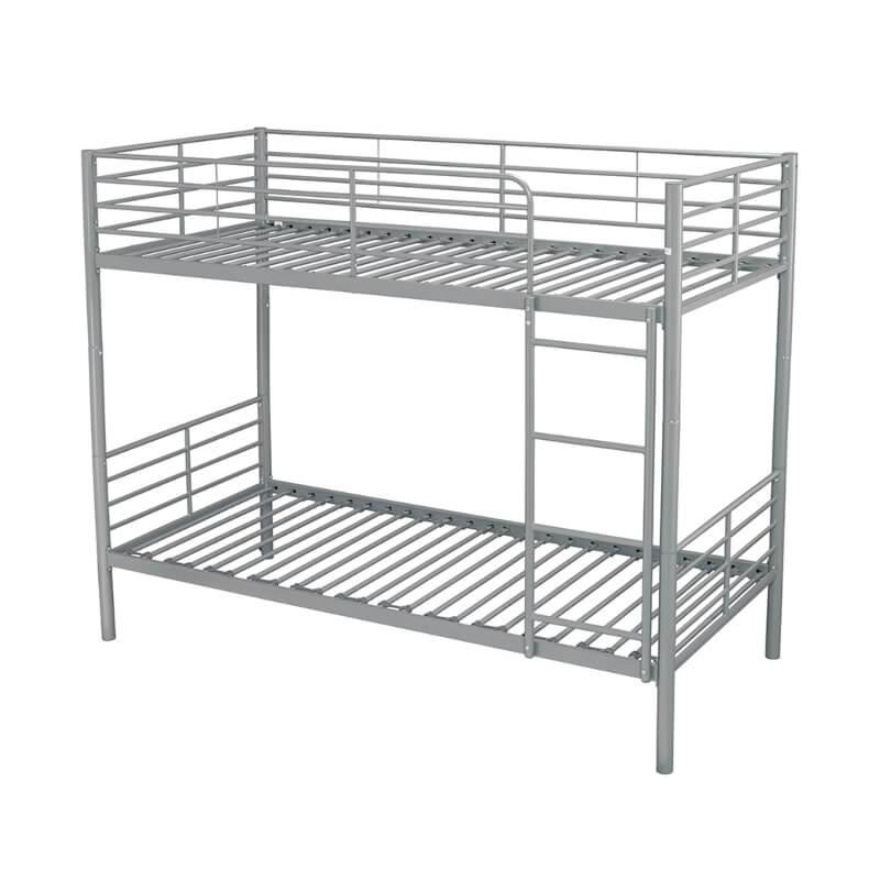 Apollo Metal Bunk Bed Silver