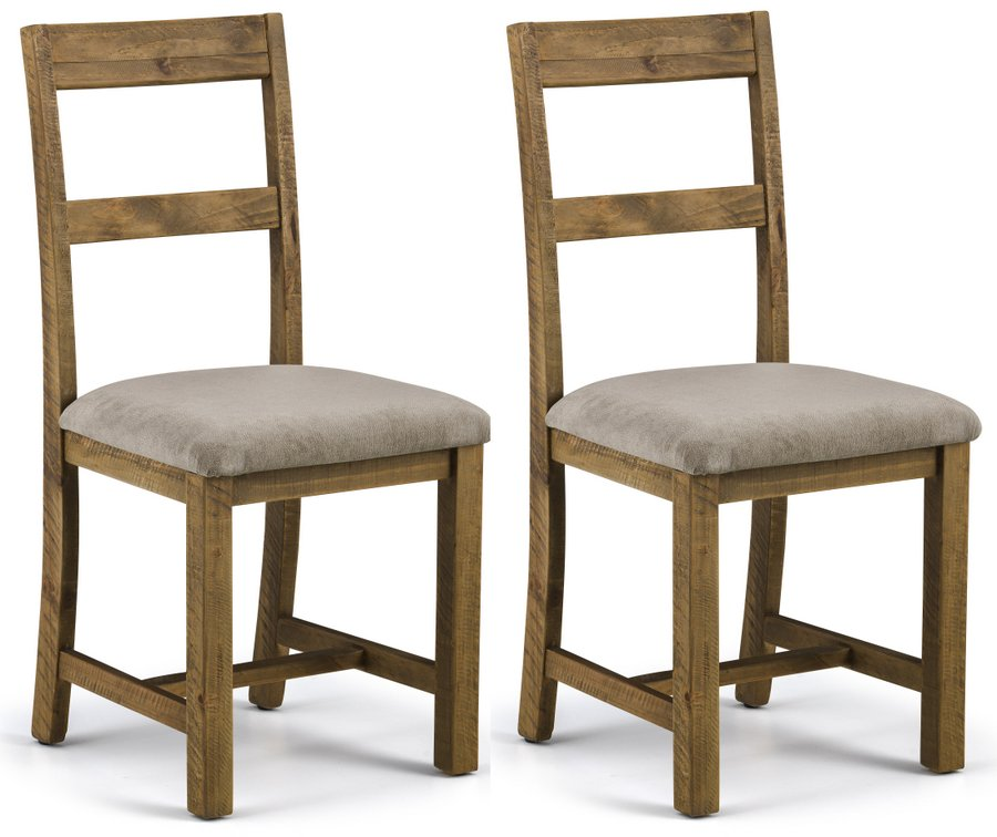 Aspen Rough Sawn Pine Dining Chairs
