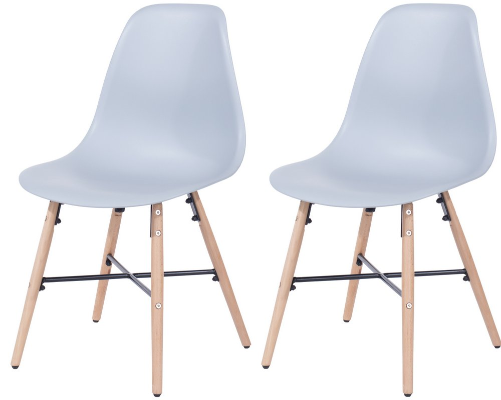 Abdabs Furniture Aspen Design 6 Plastic Chair Pair – Aspen Chair