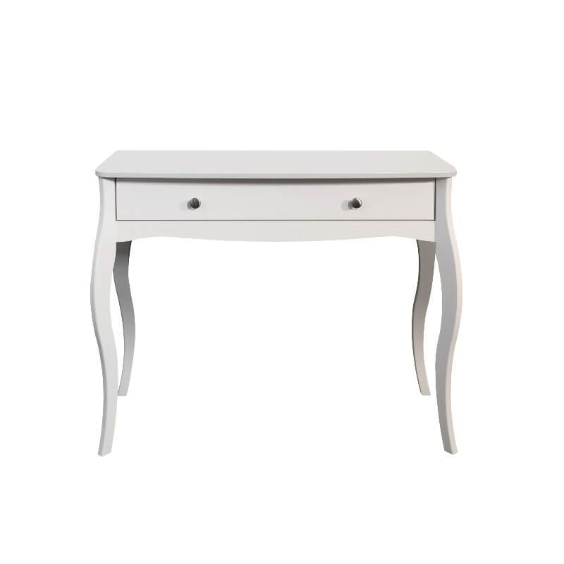 Baroque White 1 Drawer Vanity