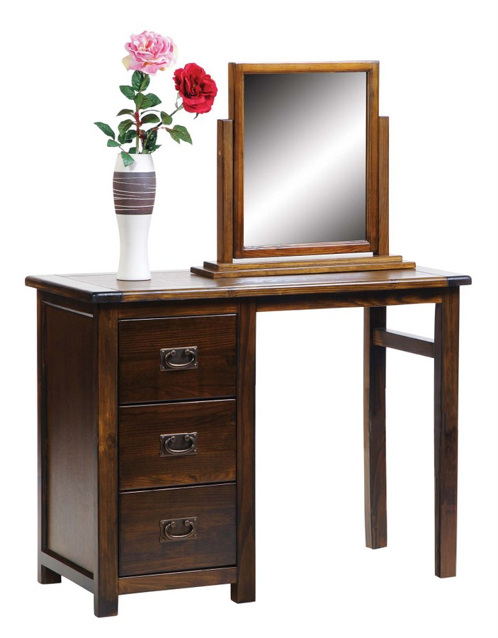 Abdabs Furniture - Boston Country House Dark Dressing Table Set