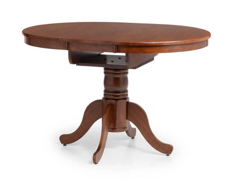 Canterbury Mahogany Round to Oval Extending Dining Table