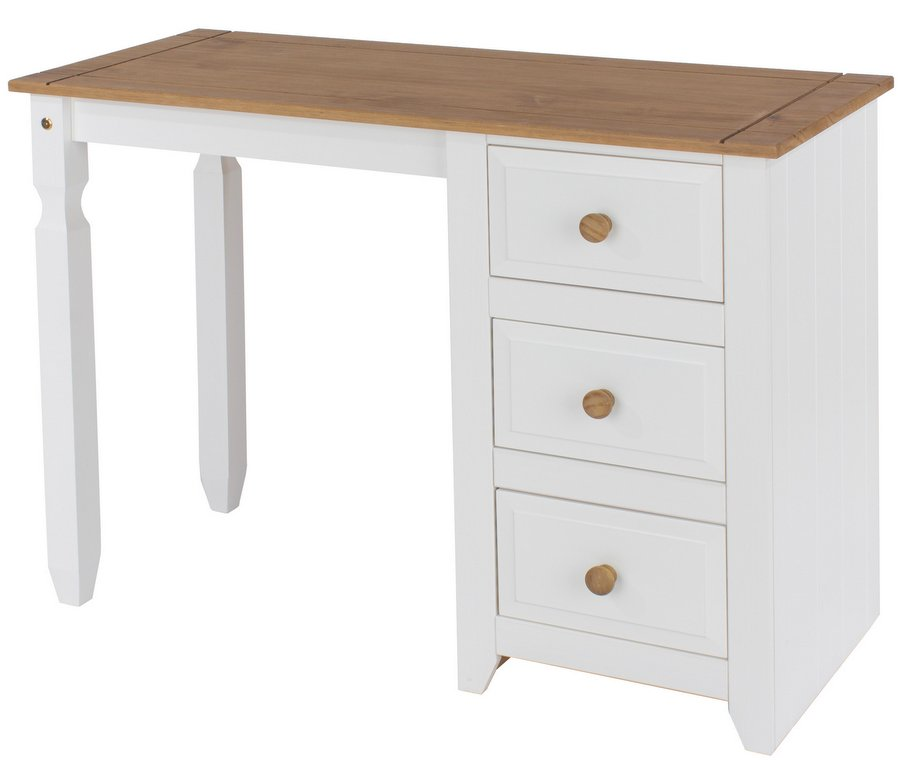 Capri White Dressing Table