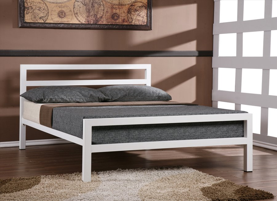 City Block Metal King-Size Bed