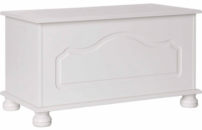 Copenhagen White Blanket Box