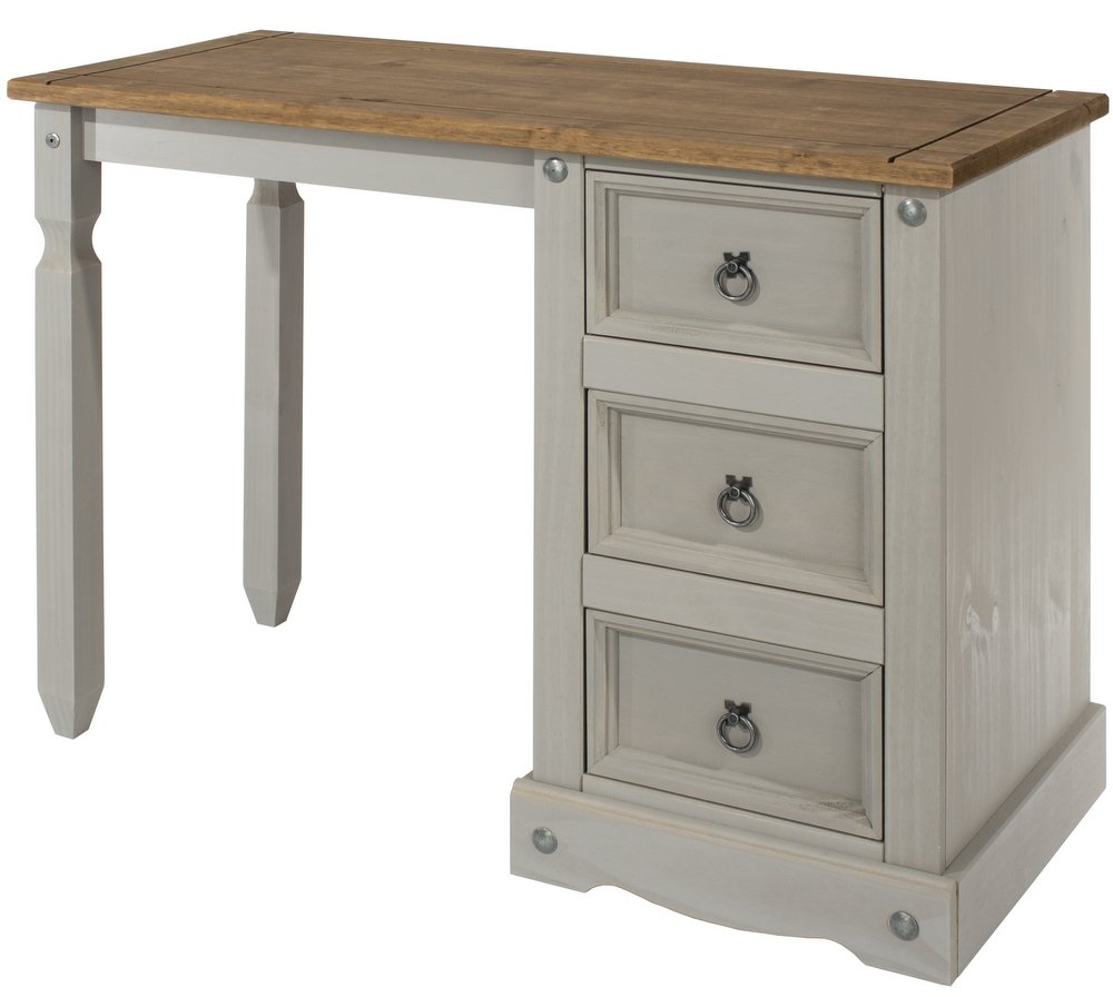 9787fbccb81f Abdabs Furniture - Corona Grey Washed Dressing Table