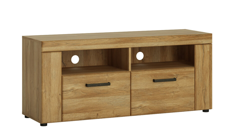 Cortina 2 Drawer TV Cabinet in Grandson Oak Effect