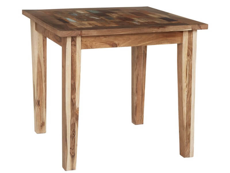 Abdabs Furniture Coastal Small Dining Table Rustic Reclaimed Wood