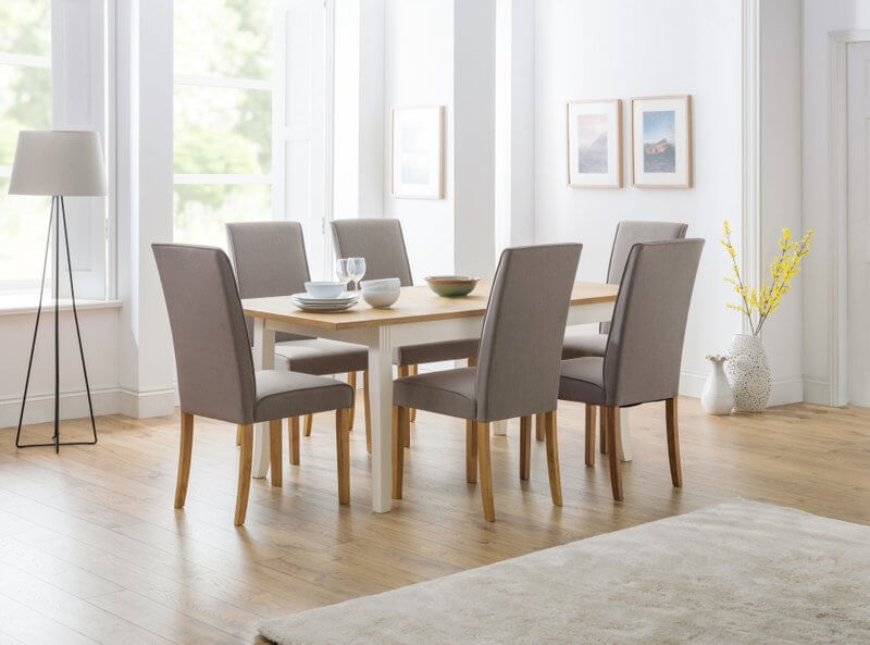 Davenport Extending Dining Table & 6 Seville Chairs