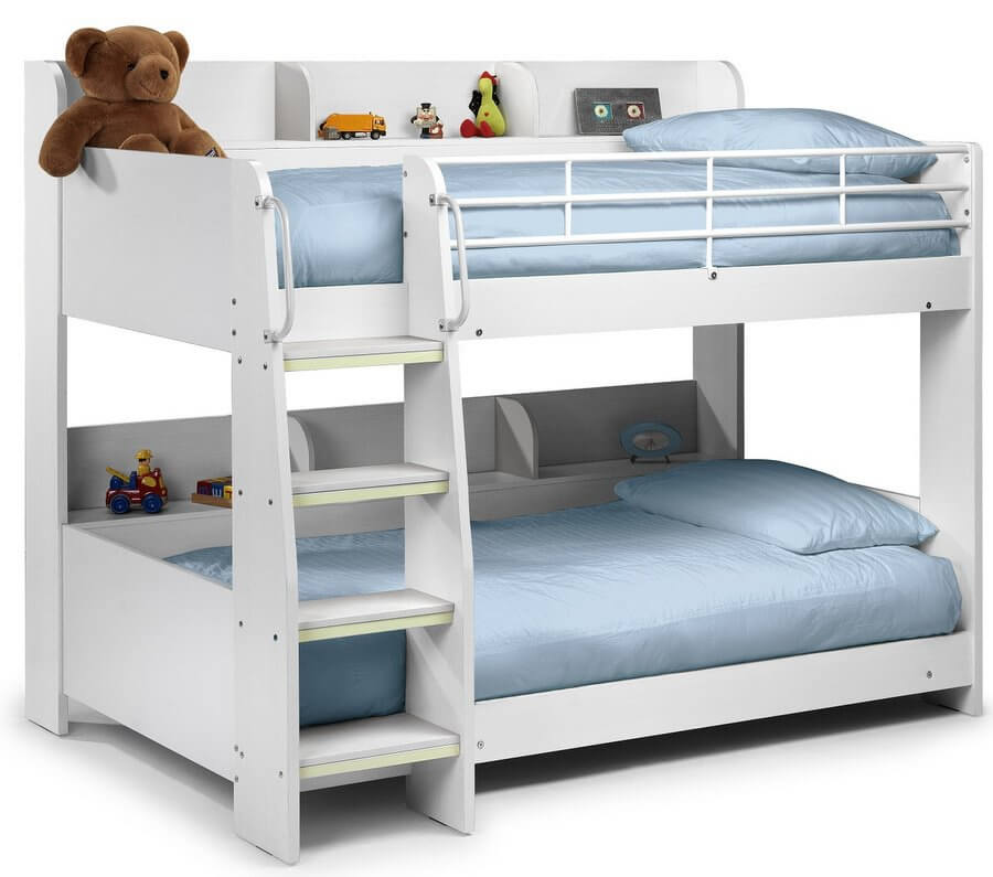 Domino Bunk Bed with Mattresses