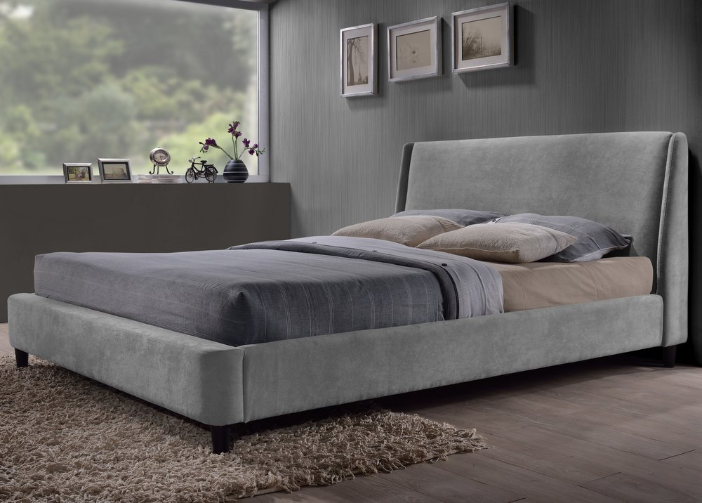 Edburgh Grey Bed Frame - Double