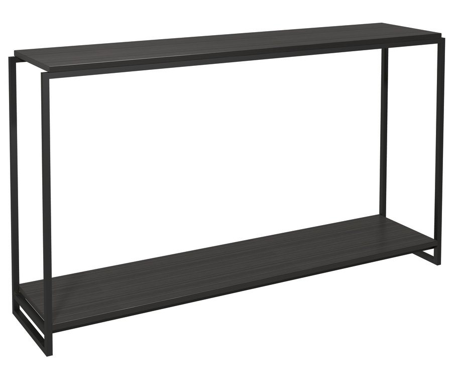 Federico Console Table Black Metal Frame